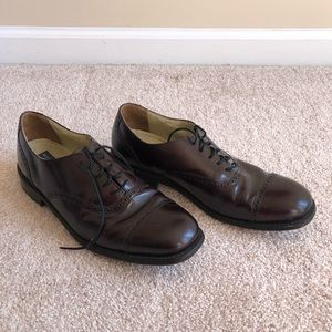 💜 Bostonian Brown Leather Dress Shoes sz 11.5